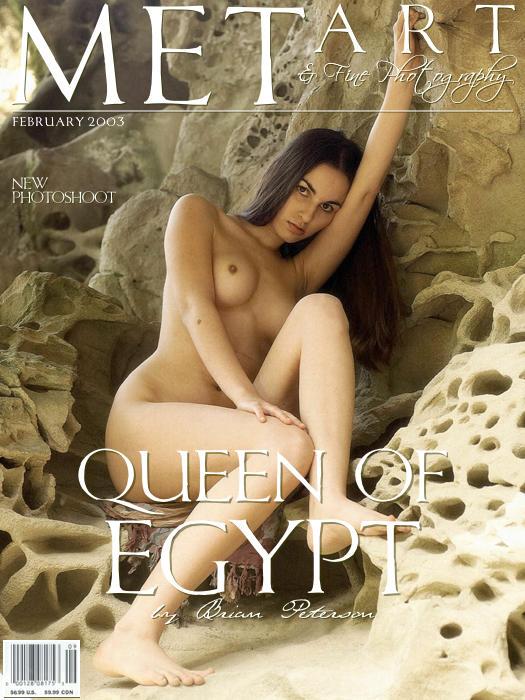 长的像埃及王后的美模Alyssa山岩外拍