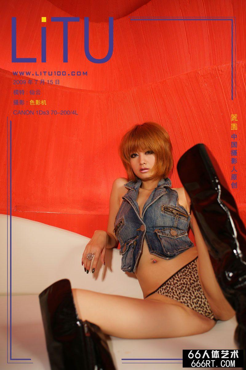 超模yumi09年7月15日红房子室拍
